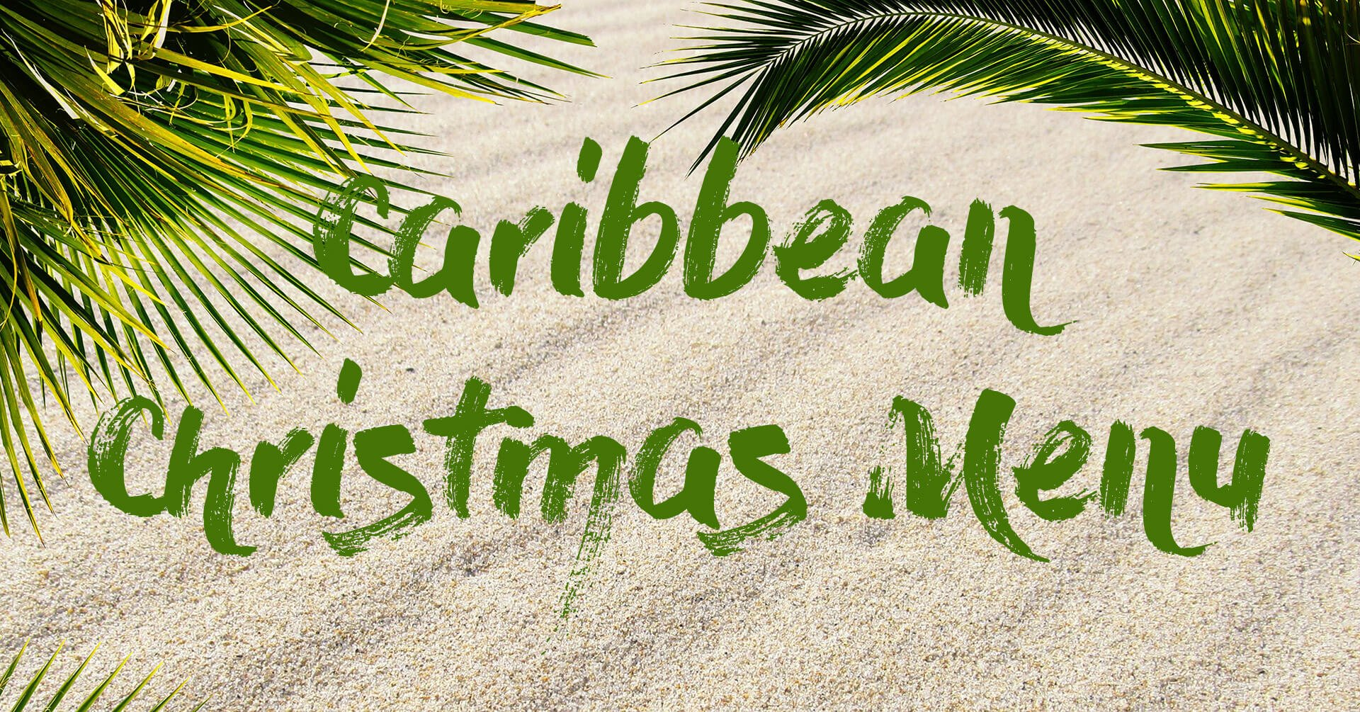 Caribbean Christmas Menu