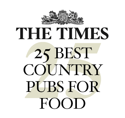 The Times 25 Best Country Pubs for Food