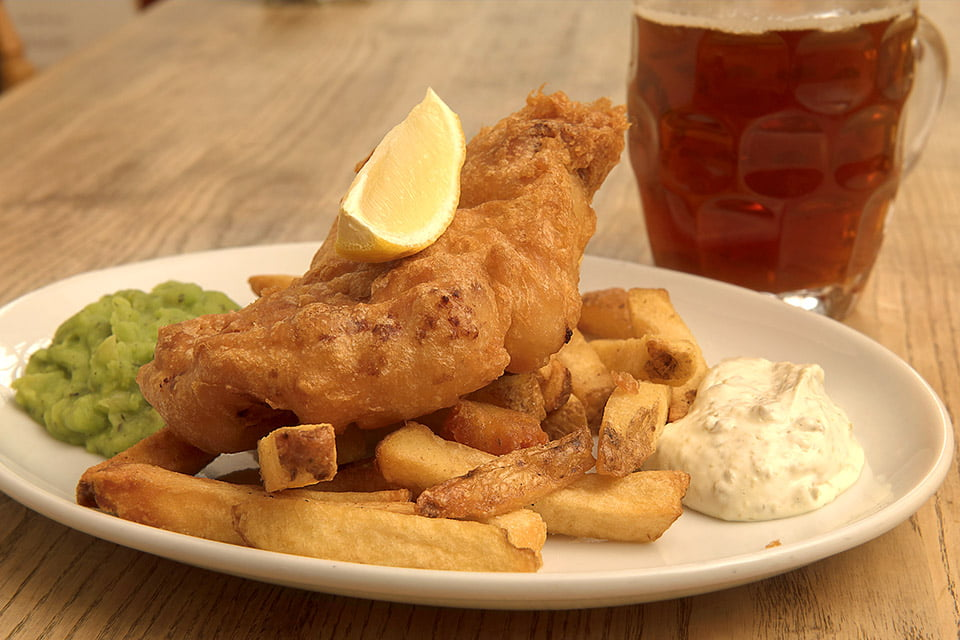 scott arms fish and chips