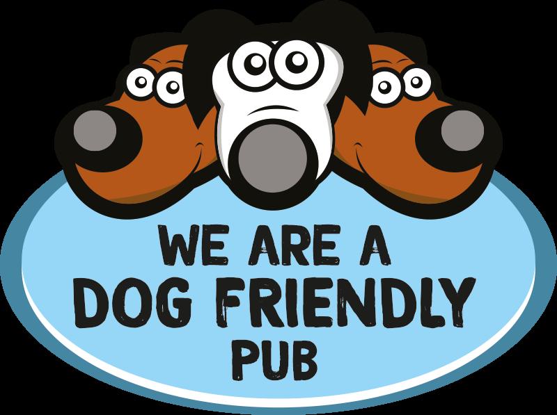 We are a dog friendly pub